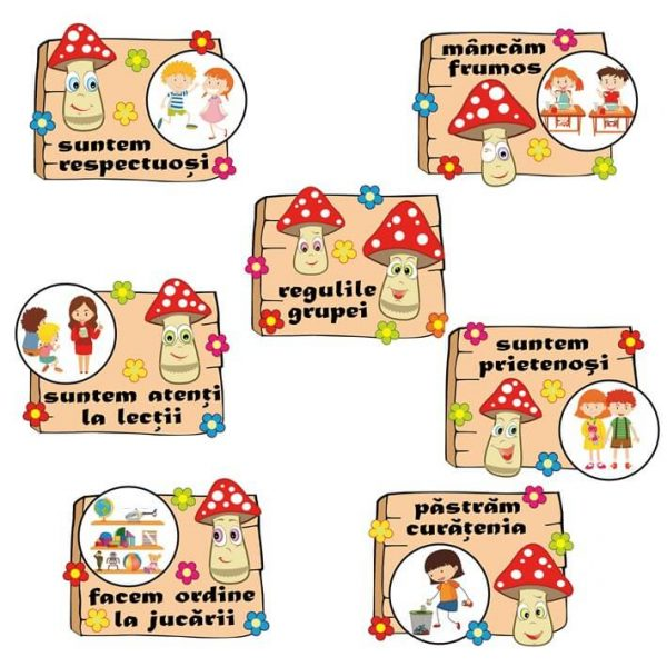 reguli grupa ciupercutelor
